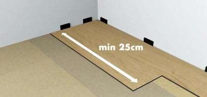 Предельная длина доски.